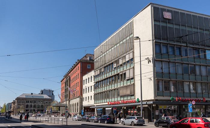 Hauptbahnhof, Bayerstraße München