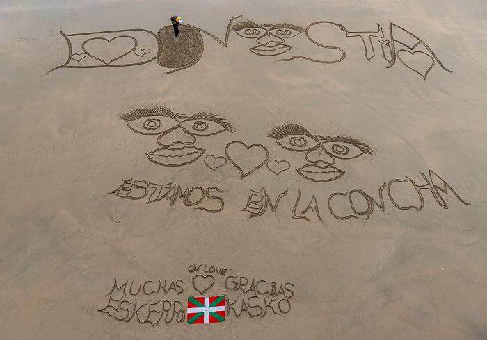 Donostia-San Sebastián Playa de La Concha