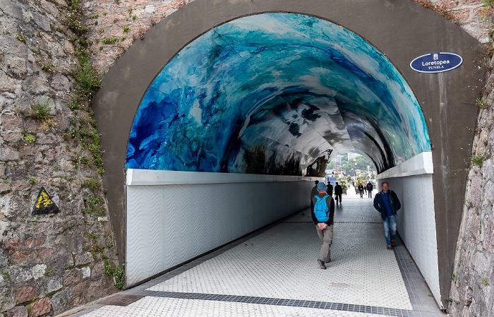 Donostia-San Sebastián Loretopea Tunela