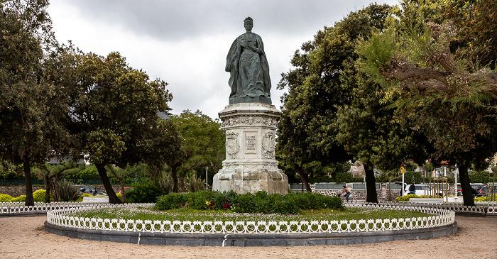 Donostia-San Sebastián Maria Cristina Erreginaren Estatua