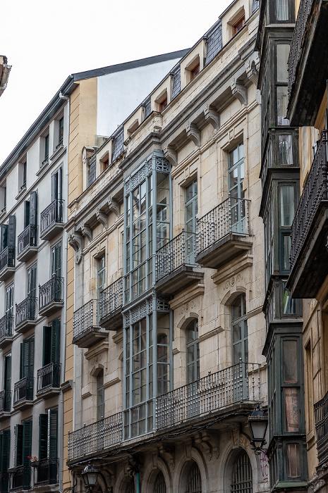 Bilbao Casco Viejo: Calle Cintureria (Gerrikogin Kalea)