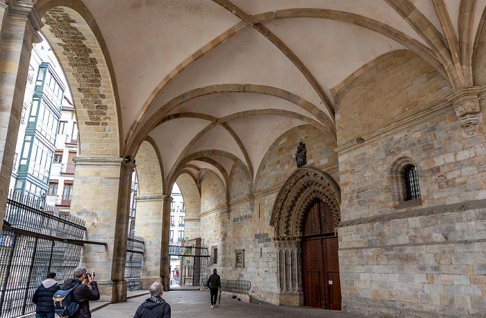 Casco Viejo: Catedral Basílica de Santiago Bilbao