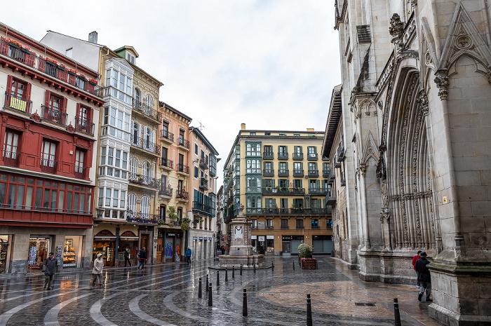 Bilbao Casco Viejo: Plaza Santiago Catedral Basílica de Santiago