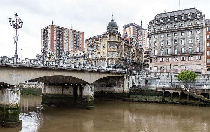 Ría de Bilbao, Puente del Ayuntamiento, Abando Bilbao