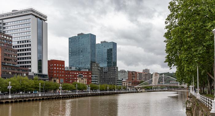 Abando, Ría de Bilbao, Uríbarri Bilbao