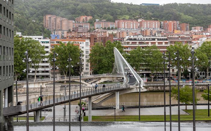 Zubizuri (Puente Blanco), Ría de Bilbao, Uríbarri