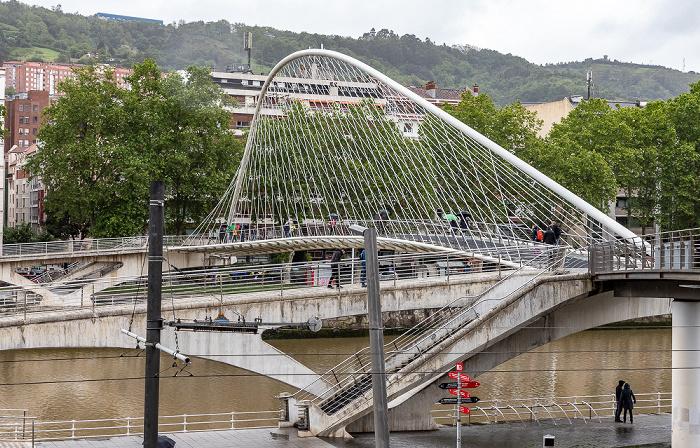 Zubizuri (Puente Blanco), Ría de Bilbao, Uríbarri Bilbao