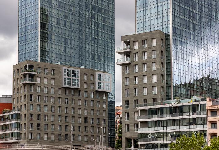 Abando: Torres Isozaki (Isozaki Atea) Bilbao