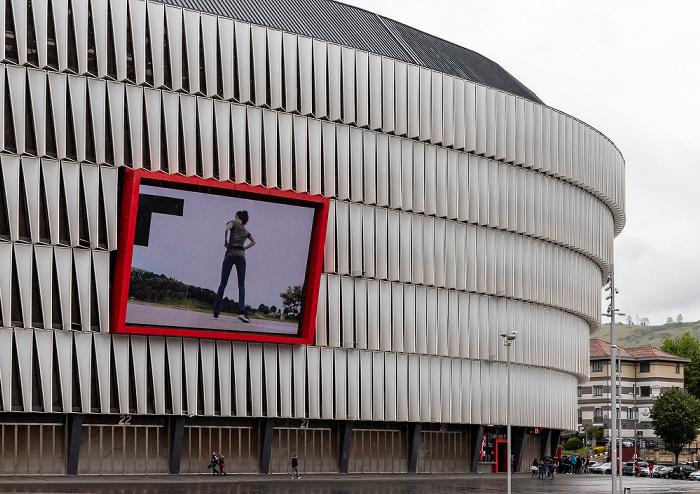 Basurto: Estadio de San Mamés Bilbao
