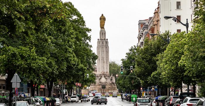 Indautxu: Gran Vía de Don Diego López de Haro Bilbao