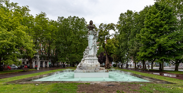 Indautxu: Parque de Doña Casilda Bilbao