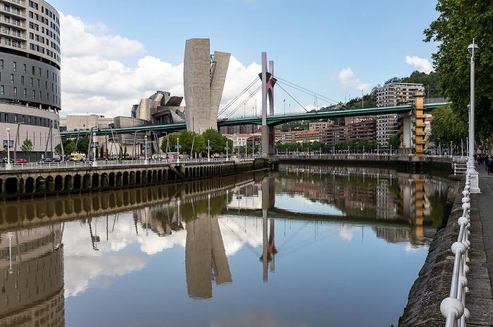 Ría de Bilbao, Torre de La Salve, Puente de La Salve, Guggenheim-Museum Bilbao Bilbao