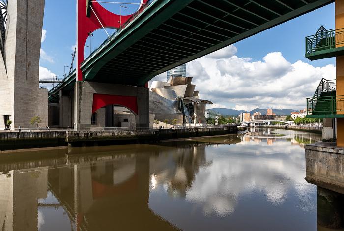 Ría de Bilbao, Puente de La Salve, Guggenheim-Museum Bilbao Bilbao