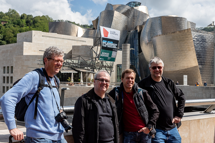Guggenheim-Museum Bilbao: Boris, Uwe, Ralph, Jürgen Bilbao