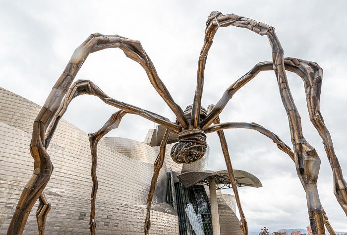Guggenheim-Museum Bilbao: Maman (von Louise Bourgeois)