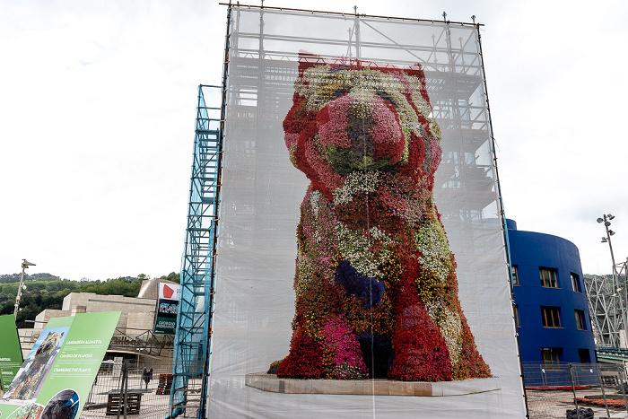 Guggenheim-Museum Bilbao: Puppy (von Jeff Koons) Bilbao