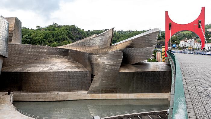Guggenheim-Museum Bilbao, Puente de La Salve Bilbao