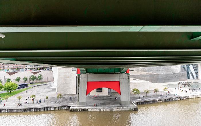 Bilbao Abando: Puente de La Salve Guggenheim-Museum Bilbao Ría de Bilbao