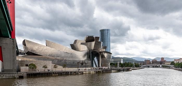Abando: Puente de La Salve, Guggenheim-Museum Bilbao, Torre Iberdrola Bilbao
