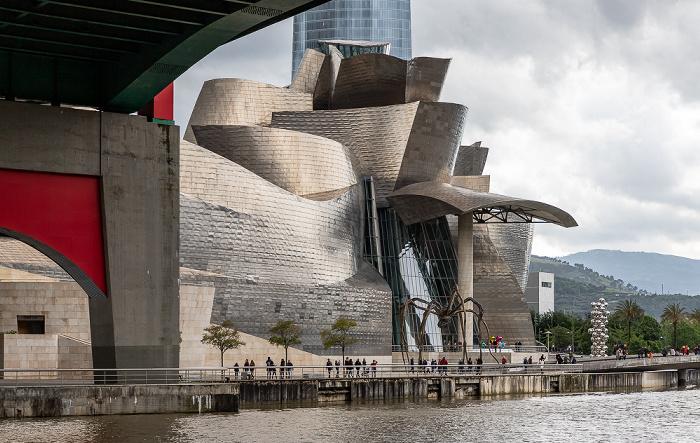 Abando: Puente de La Salve, Guggenheim-Museum Bilbao Bilbao