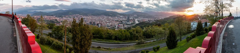 Blick vom Monte Archanda Bilbao