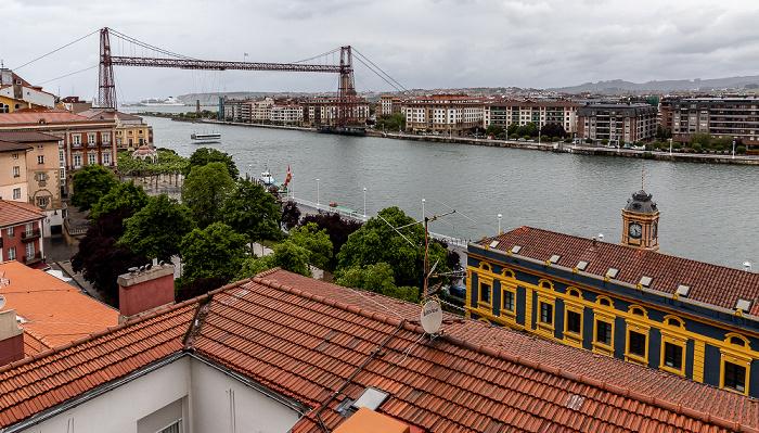 Portugalete Ría de Bilbao, Schwebefähre Puente de Vizcaya (Puente Colgante) Estación de Portugalete