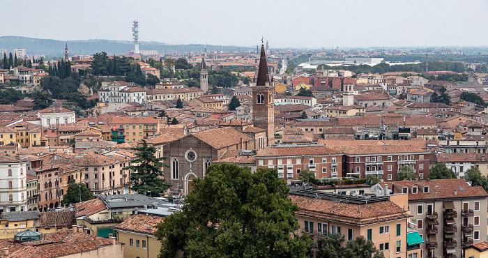 Blick vom Torre dei Lamberti Verona