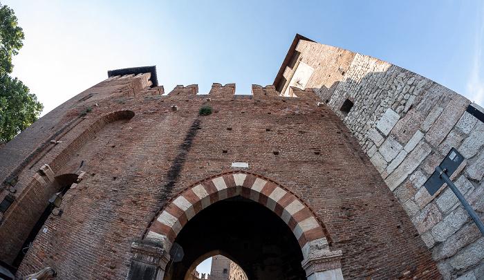 Centro Storico (Altstadt): Castelvecchio, Ponte Scaligero (Skaligerbrücke) Verona