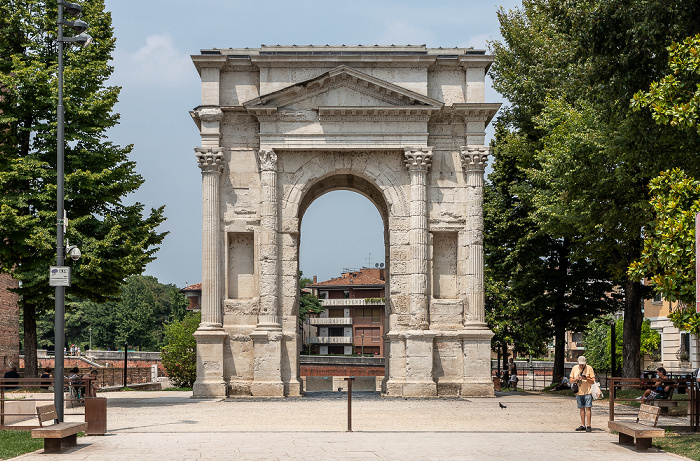 Centro Storico (Altstadt): Arco dei Gavi Verona
