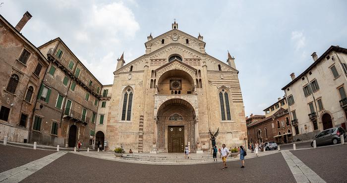 Centro Storico (Altstadt): Piazza Duomo, Cattedrale di Santa Maria Matricolare (Dom) Verona