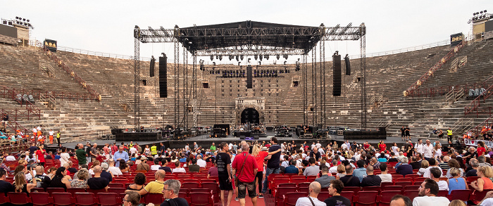 Arena di Verona: Vor dem Mark Knopfler-Konzert Verona