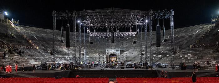 Arena di Verona: Nach dem Mark Knopfler-Konzert Verona