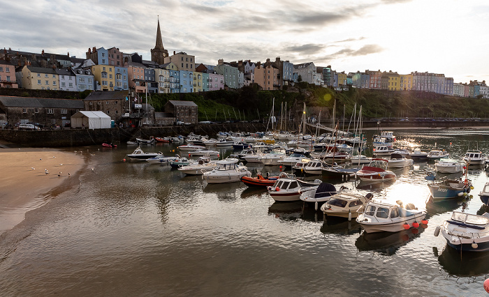 Tenby Harbour Crackwell Street St Mary's Church