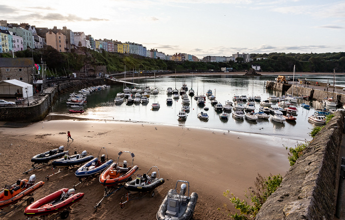 Harbour Beach, Tenby Harbour