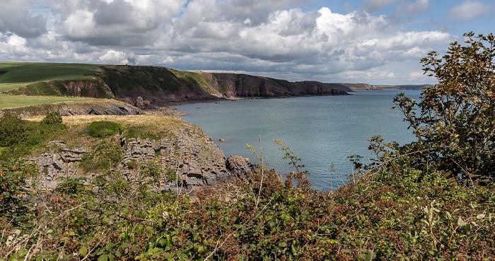 Pembrokeshire Coast National Park Bristolkanal (Bristol Channel)