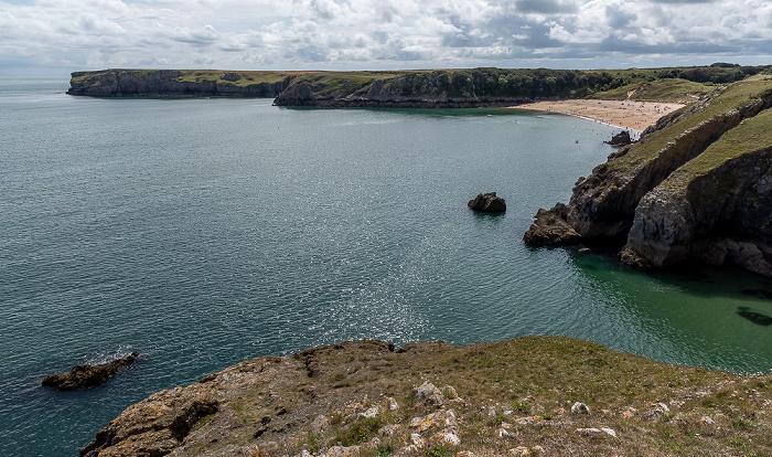 Pembrokeshire Coast National Park Bristolkanal (Bristol Channel), Barafundle Bay