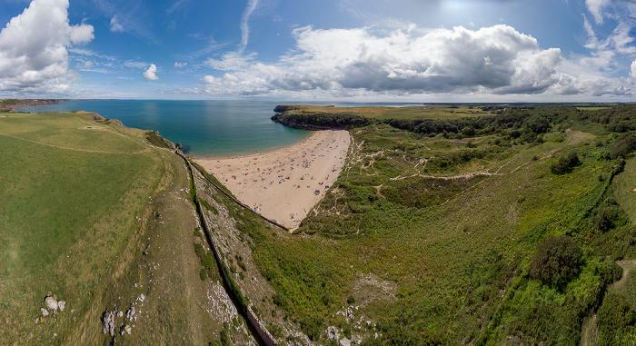 Pembrokeshire Coast National Park Luftbild aerial photo
