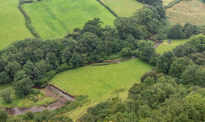 Brecon Beacons National Park Tal des Afon Cennen