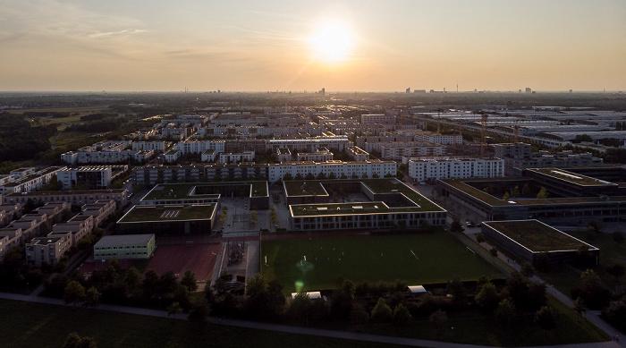 Riemer Park, Messestadt Riem, Neue Messe München München