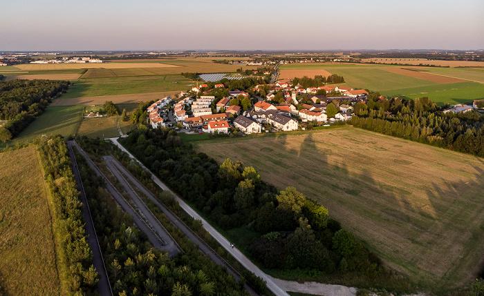 Riemer Park, Aussichtshügel Riemer Park München