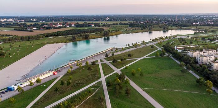 Riemer Park: Riemer See München