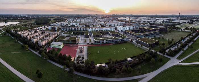 Riemer Park: Messestadt Riem und Neue Messe München München