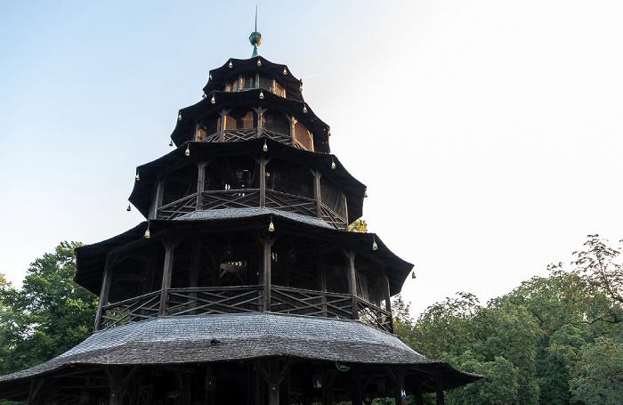 Englischer Garten: Chinesischer Turm München