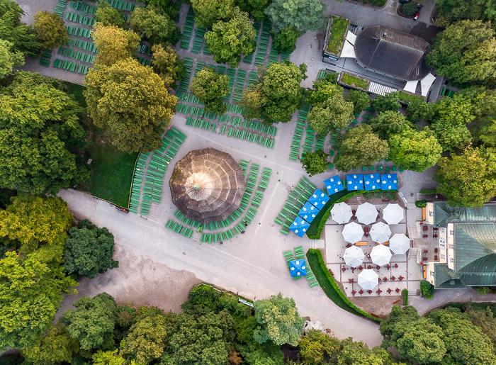 Englischer Garten: Biergarten Chinesischer Turm, Chinesischer Turm, Restaurant am Chinesischen Turm München