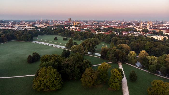 Englischer Garten: Eisbach München