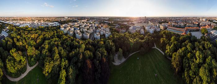 Theresienhöhe: Bavariapark München