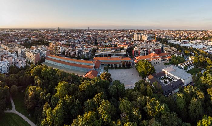 Theresienhöhe: Bavariapark und Deutsches Museum Verkehrszentrum München