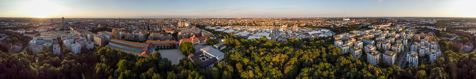 Theresienhöhe: Bavariapark, Deutsches Museum Verkehrszentrum, Theresienwiese und Quartier Theresienhöhe München