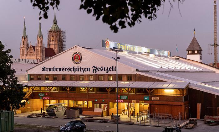Theresienwiese: Armbrustschützenzelt München