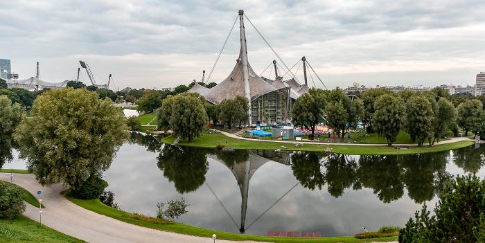 Olympiapark: Olympiasee, Olympiaschwimmhalle München
